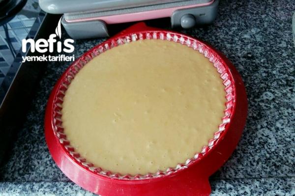 Frambuazlı Pamuk Tart Pasta