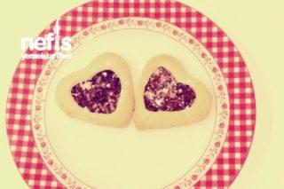 Elmalı Kalpli Kurabiye Tarifi