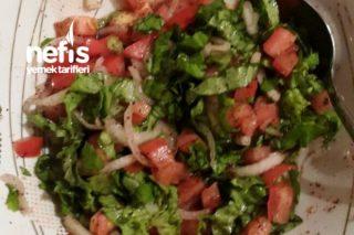 Salata (Ekmek Arası Yiyecekler İçin) Tarifi