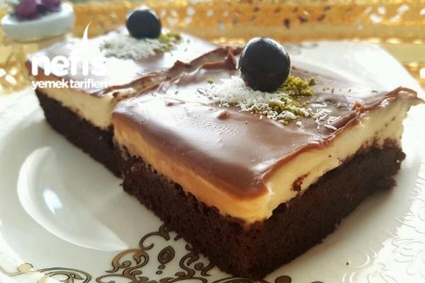 Şerbetli Çikolatalı Pasta Tarifi