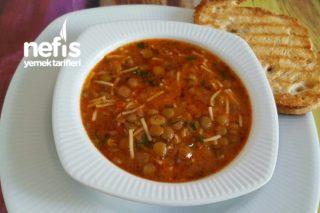 Yeşil Mercimek Çorbası (Yüzde Yüz) Lezzetli Tarifi