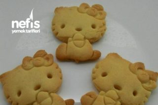 Hello Kitty Şekilli Kurabiye Tarifi