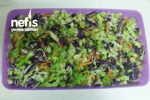 Salata Saklama (Salata Yapmaya Üşenenler İçin)