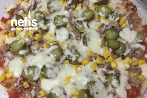 Pratik Pizza (Çıtır Çıtır) Tarifi