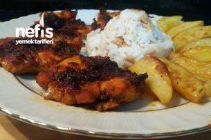Fırında Tavuk Ve Patates (Nefis Kızartma ) Tarifi