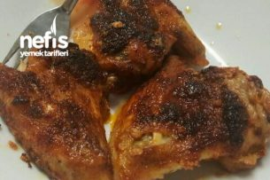 Nar Gibi Kızarmış Tavuk Kanatları Tarifi