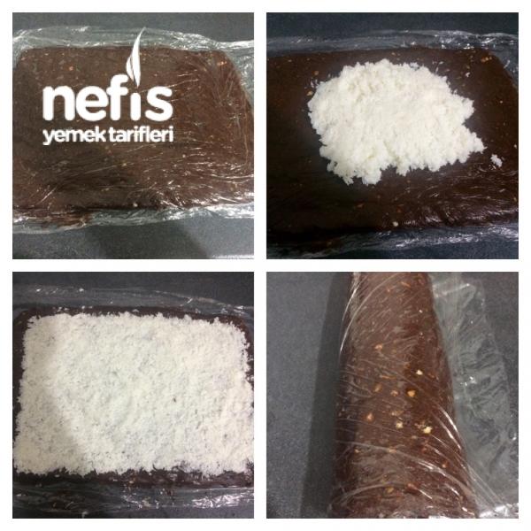 Hindistan Cevizli Soğuk Pasta