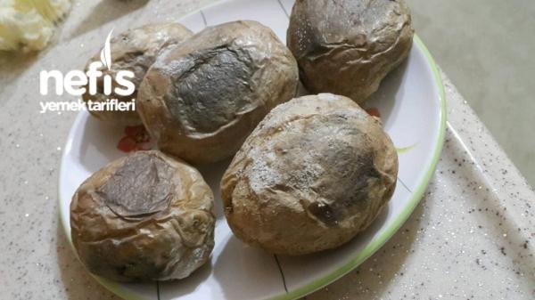 Kuzine Soba Lezzetinde : Közlenmiş Patates