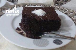 Yumuşacık Çikolatalı Islak Kek (Sosu Yumurtasız) Tarifi