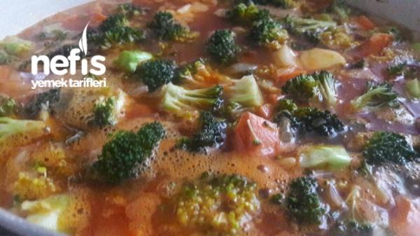 Zeytin Yağlı Brokoli