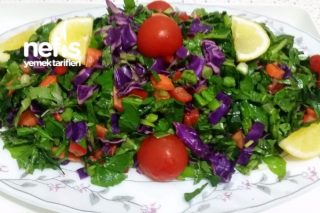 Demir Deposu Salata (Mutlaka Deneyin ) Tarifi