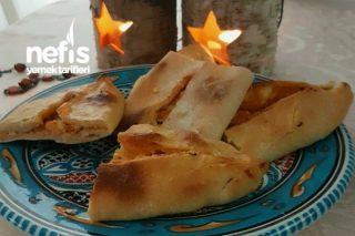 Hamuru Gevrek Enfes Peynirli Kapama Börek Tarifi