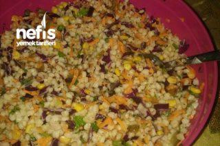 Hanişe'nin Pratik Buğday Salatası Tarifi
