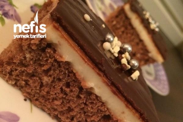 Şerbetli Çikolatalı Kek