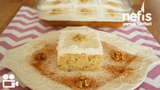 Elmalı Cevizli Pasta Videosu Tarifi