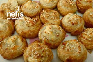 Milföyden Çıtır Lokmalık Peynirli Rulolar Tarifi