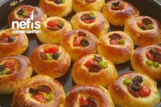 Minik Poğaça Pizza Tarifi