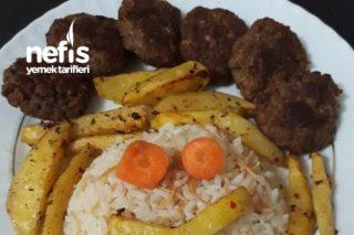 Fırında Köfte Patates (Çocuklara Özel) Tarifi