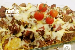 Kahvaltıya Mis Simit Kebabı Tarifi