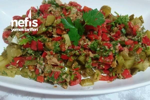 Tonbalık Salata (Pişmiş) Tarifi