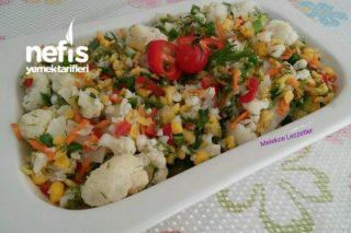 Bol Vitaminli Karnabahar Salatası Tarifi