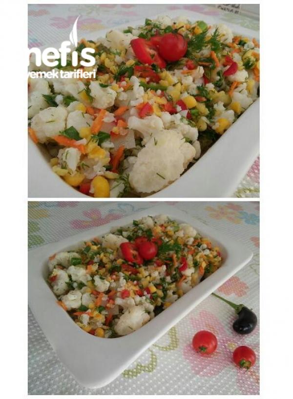 Bol Vitaminli Karnabahar Salatası