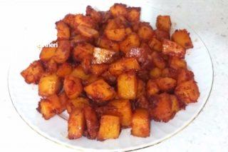 Fırında Soslu Patates Tarifi