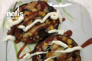 Patlıcan Pizzam (Enfes Bir Tat) Tarifi