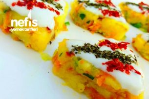 Yogurtlu Patates Salatası