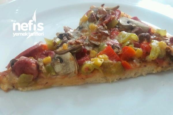 Karışık Pizza (Gerçek Pizza Tarifi)