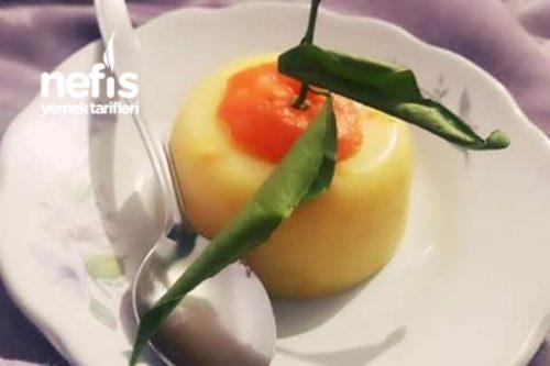 Portakallı Muhallebi Tarifi 22