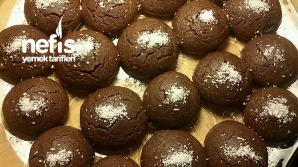 Şerbetli Brownie Kurabiye