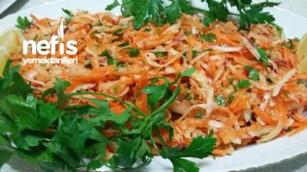 Havuçlu Turp Salatası
