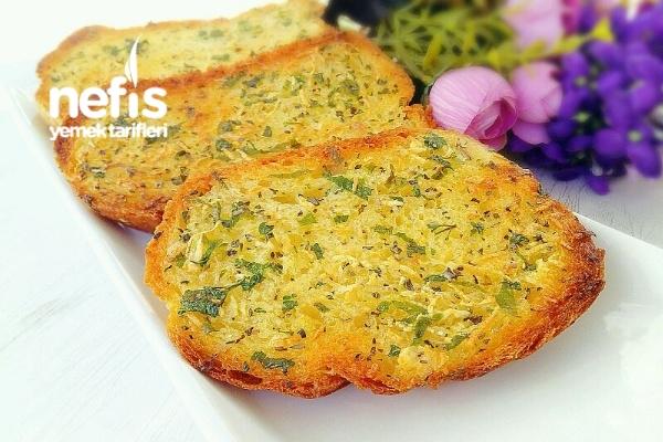 Sarımsaklı Ekmek Dilimleri Tarifi