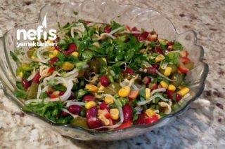 Soya Filizi Salatası (Vegan) Tarifi