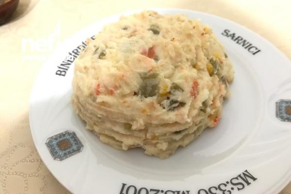 Yoğurtlu Harika Patates Salatası Tarifi