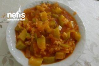 Pirinçli Kabak Yemeği (Vegan) Tarifi
