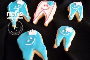 Şeker Hamurlu Diş Kurabiye Tarifi