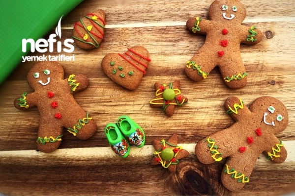 Zencefil Adam Kurabiyeleri (Gingerbread Man) Tarifi