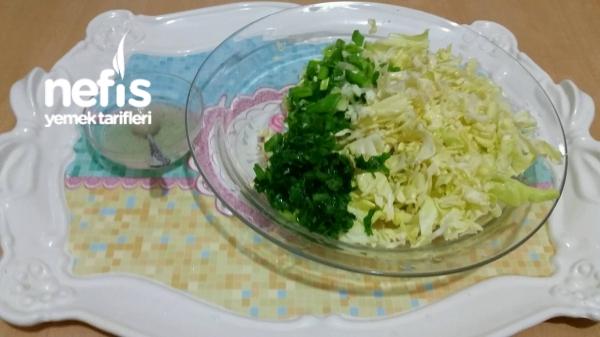 2 Renkli Lahana Salatası