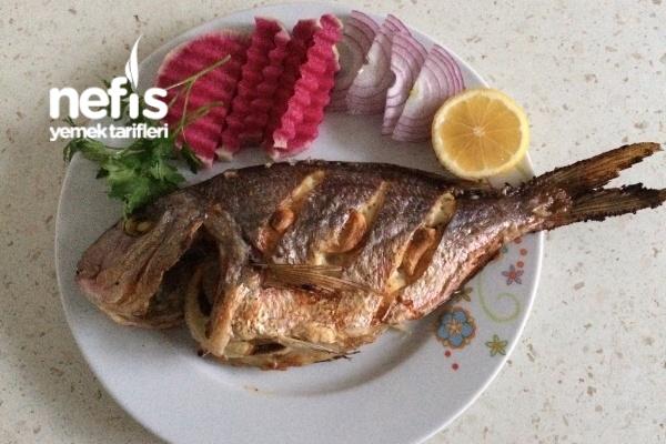 Izgara Tadında Fırında Balık Tarifi