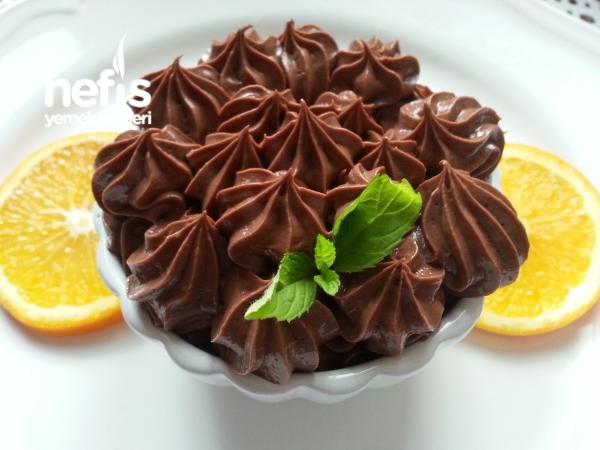 Çikolatalı Pastacı Kreması (yumurtasız)
