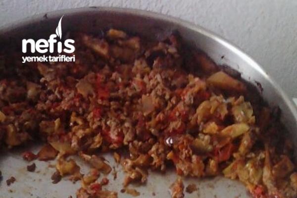 Kıymalı Patlıcan Ve Patatasli Oturtma Tarifi
