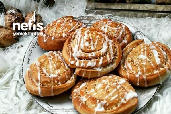 Tarçınlı Çörek (Zimtschnecken) Tarifi