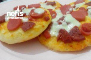 Ev Yapımı Mini Pizza Tarifi