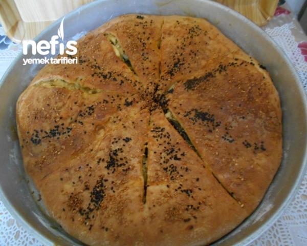 Ispanaklı Pırasalı Peynirli Ev Böreği