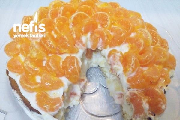 Mandalinalı Kremalı Pasta Tarifi