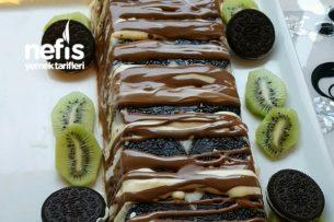 Oreo Ya da Kaymaklı Bisküviden Pasta Tarifi