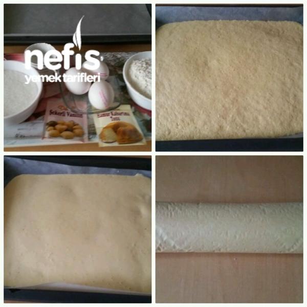 Porsiyonluk Mini Rulo Pasta(Püf Noktaları ile 8 adet )