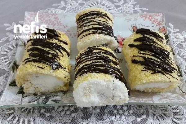 Porsiyonluk Mini Rulo Pasta (Püf Noktaları İle 8 Adet )